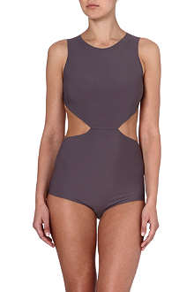 RICK OWENS Open-back swimsuit