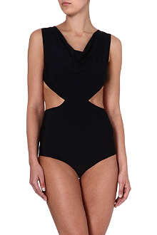 RICK OWENS Cowl-neck swimsuit