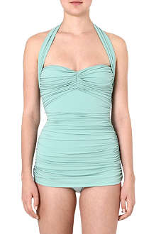 NORMA KAMALI Bill Mio halter-neck swimsuit