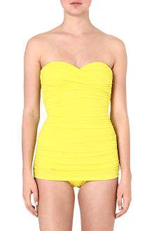 NORMA KAMALI Walter Mio strapless swimsuit