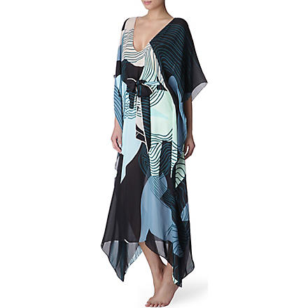TALLULAH & HOPE Classic long kaftan (Birds+on+the+water