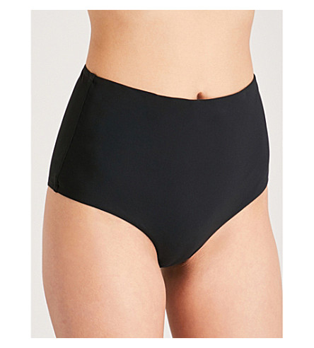 ZIMMERMANN Separates high-rise bikini bottoms (Noir