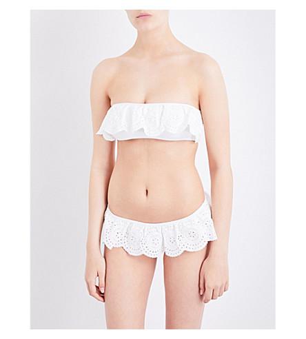 ZIMMERMANN Meridian Frill bikini (Natural