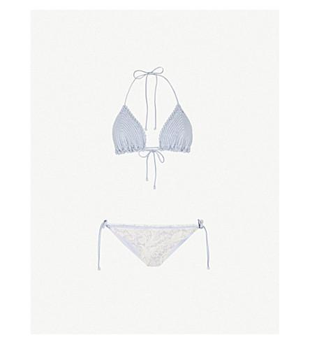 ZIMMERMANN Helm Crochet contrasting bikini (Mismatched