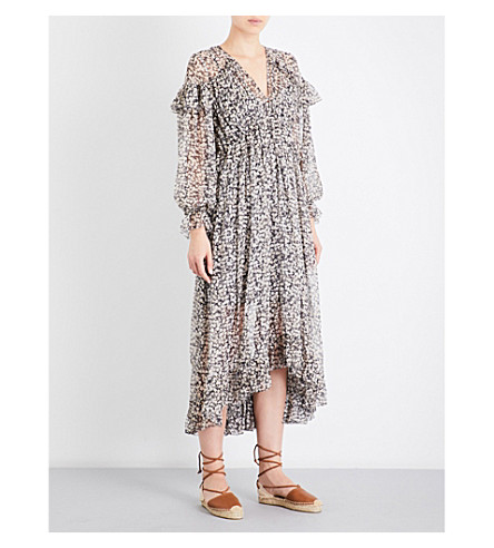 ZIMMERMANN Prima cherry chiffon dress (Cherry+floral