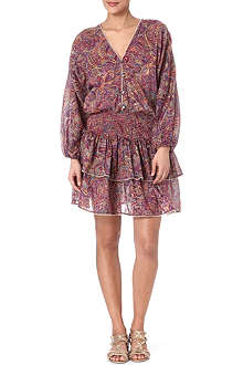 ZIMMERMANN Instinct shirred dress