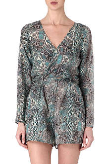 ZIMMERMANN Vivid wrap playsuit