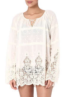 ZIMMERMANN Keeper broidery top