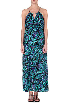 ZIMMERMANN Floral silk maxi dress