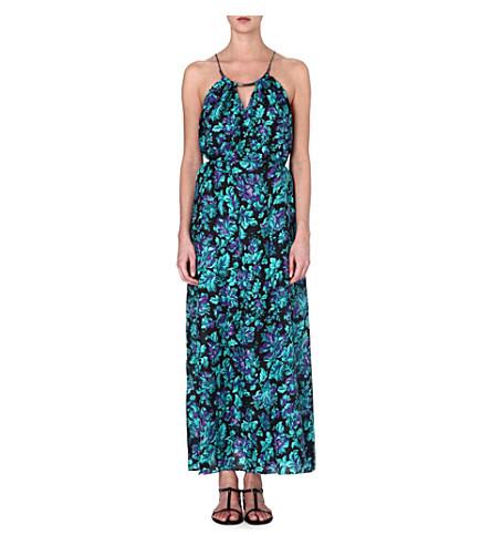ZIMMERMANN Floral silk maxi dress (Floral