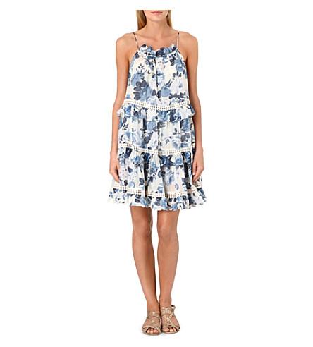 ZIMMERMANN Hydra tiered sun dress (Floral