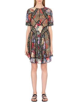 ZIMMERMANN Trinity cotton and silk-blend dress