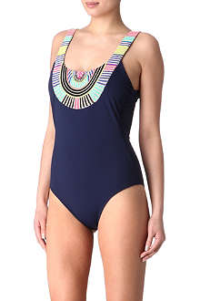 MARA HOFFMAN Electric Casino swimsuit