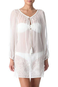 MARIE FRANCE VAN DAMME Caprious embroidered Romantic tunic