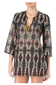 MARIE FRANCE VAN DAMME Silk short kaftan