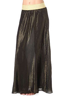 MARIE FRANCE VAN DAMME Metallic skirt