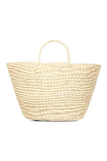 SENSI STUDIO Natural maxi tote