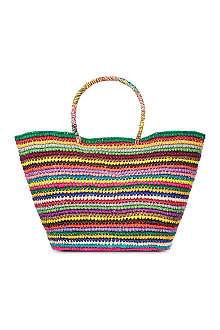SENSI STUDIO Multicoloured maxi tote