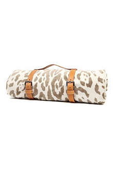 MASLIN Jaguar hide beach towel