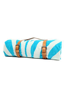 MASLIN Zebra hide beach towel