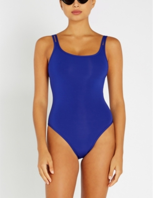 Intuition double-strap swimsuit