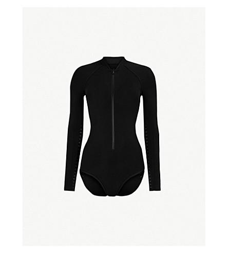 JETS BY JESSIKA ALLEN Parallels Surf swimsuit (Black