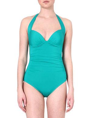 JETS BY JESSIKA ALLEN 1950s halterneck swimsuit