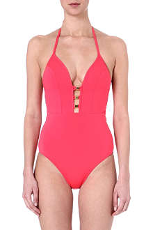 JETS BY JESSIKA ALLEN Vision plunge v-neck swimsuit