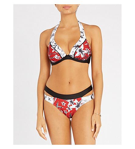 JETS BY JESSIKA ALLEN Oasis halterneck bikini top (Chilli