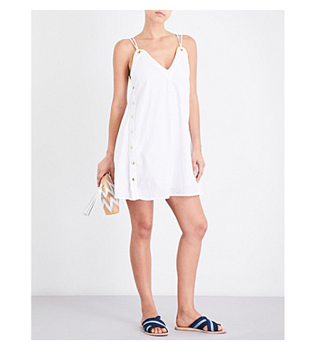 JETS BY JESSIKA ALLEN Perspective cotton dress (White