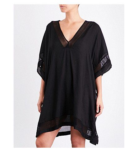 JETS BY JESSIKA ALLEN Jetset v-neck kaftan (Black