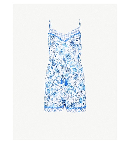 JETS BY JESSIKA ALLEN Provence floral woven playsuit (Floral