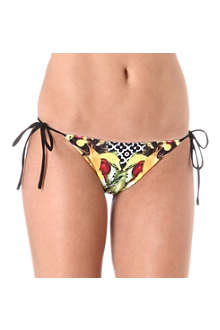 CLOVER CANYON Banana scarf bikini briefs