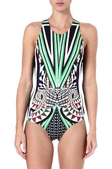 CLOVER CANYON Robot Flamingo swimsuit