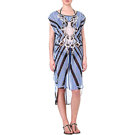 CLOVER CANYON Striped Sculpture cover-up (Multi