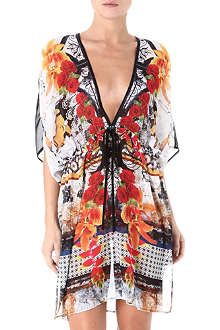 CLOVER CANYON Granny cover-up kaftan