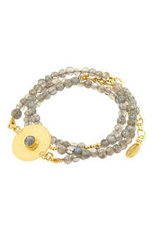 ASHIANA Beaded disc bracelet