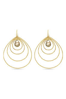 ASHIANA Concentric hoop earrings