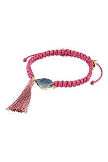 ASHIANA Woven tassel bracelet