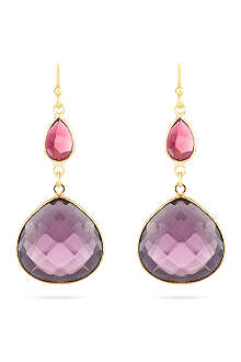 ASHIANA Drop gem earrings