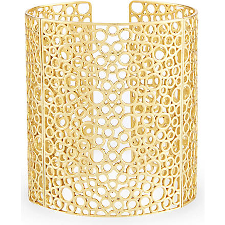 ASHIANA Bubble cuff (Gold