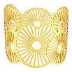 ASHIANA 22 carat goldplate cuff bracelet