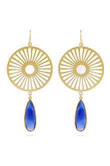 ASHIANA Starburst earrings