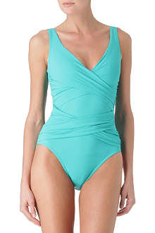 KARLA COLLETTO Surplice swimsuit