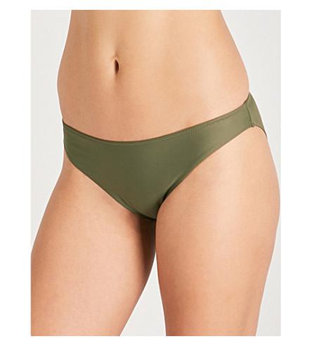 CALVIN KLEIN Core Neo classic bikini bottoms (314+olive+night
