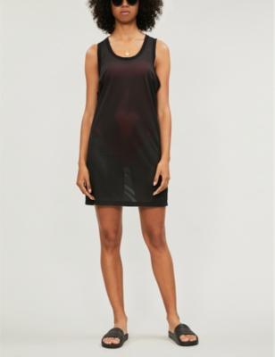 Core Icon mesh mini dress