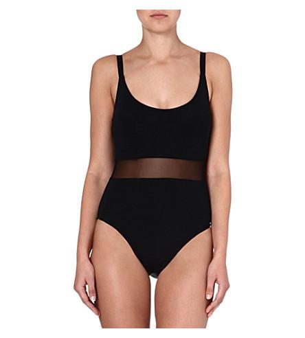 BETH RICHARDS Agnes swimsuit (Black