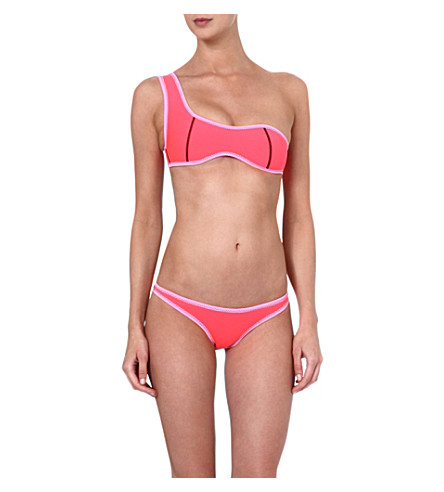 N.L.P Single strap bikini (Pink/pink