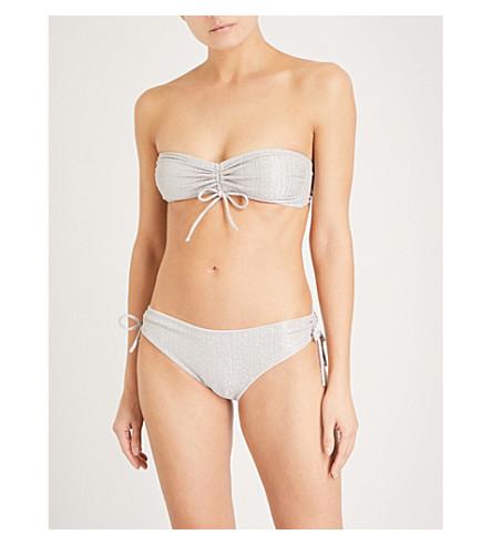 PRISM Fortaleza bikini top (Silver+lurex