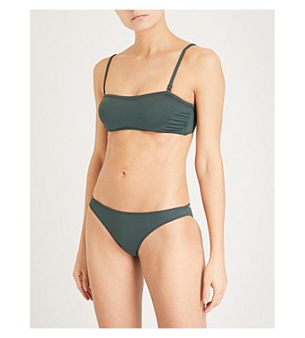 PRISM Hossegor bikini top (Forest+green